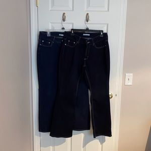 RIDERS BY LEE boot cut jeans sz 14P